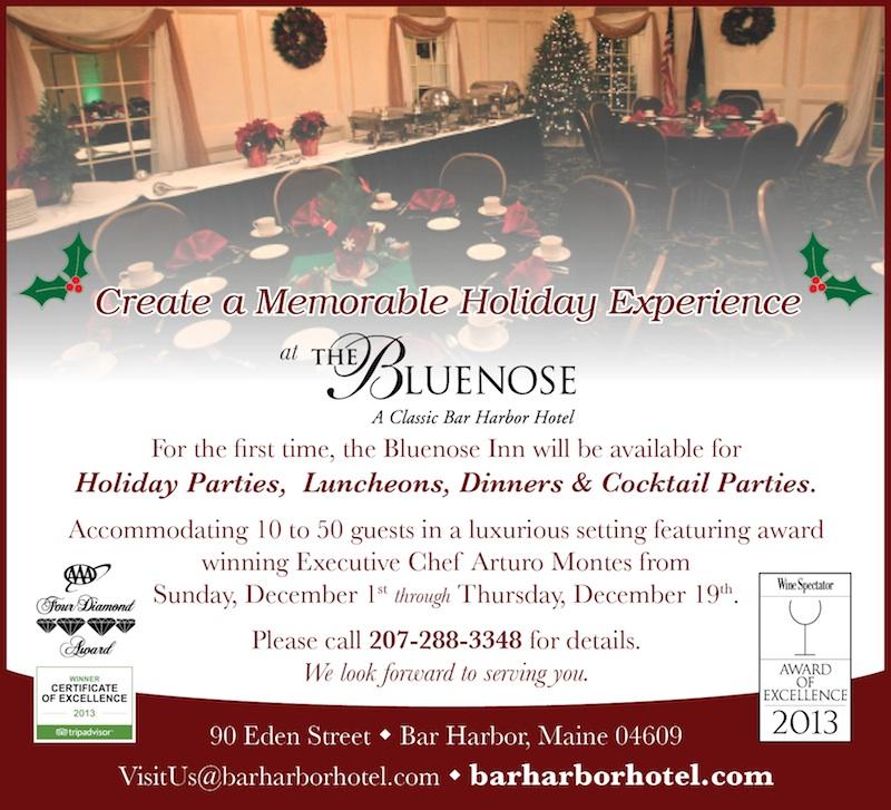 Bar Harbor Holiday Parties
