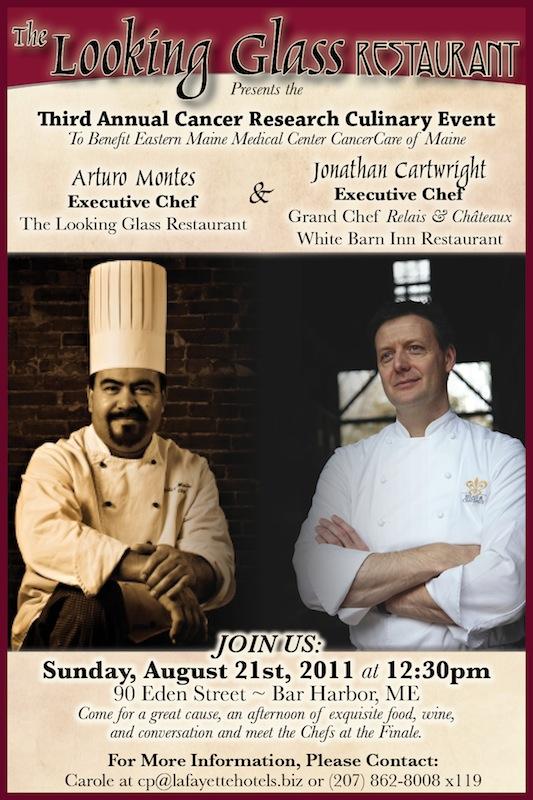 Chef Arturo Montes and Chef Jonathan Cartwright