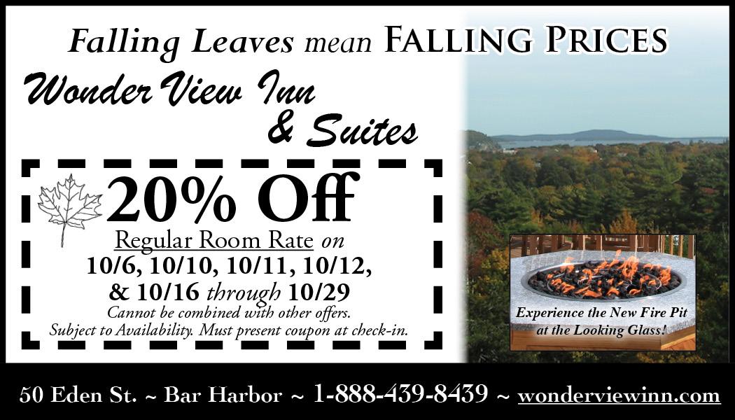 Wonder View End of Season 20% off