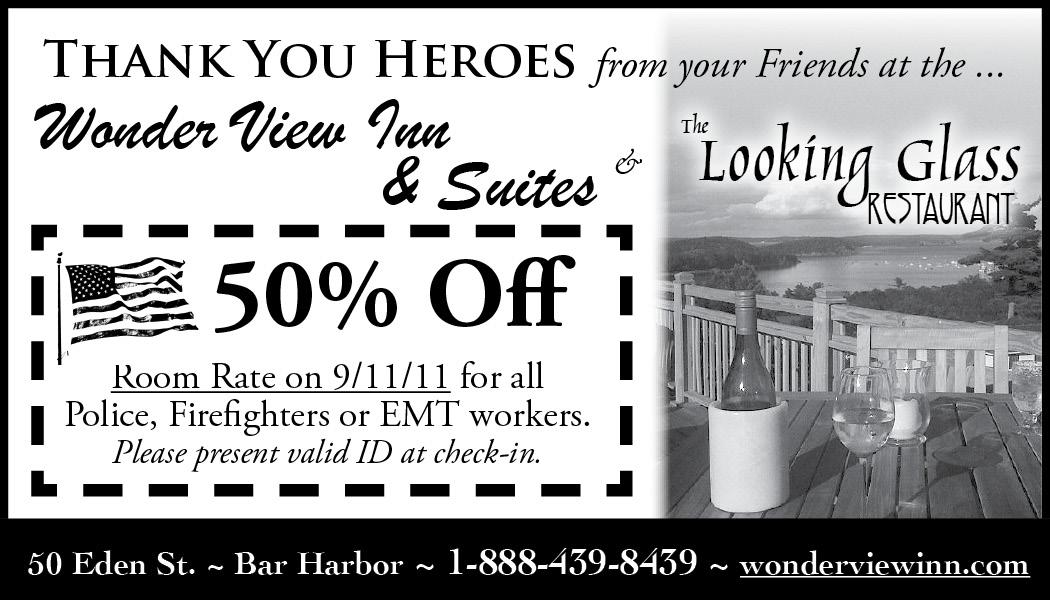 Wonder View - 9-11 Heroes Special