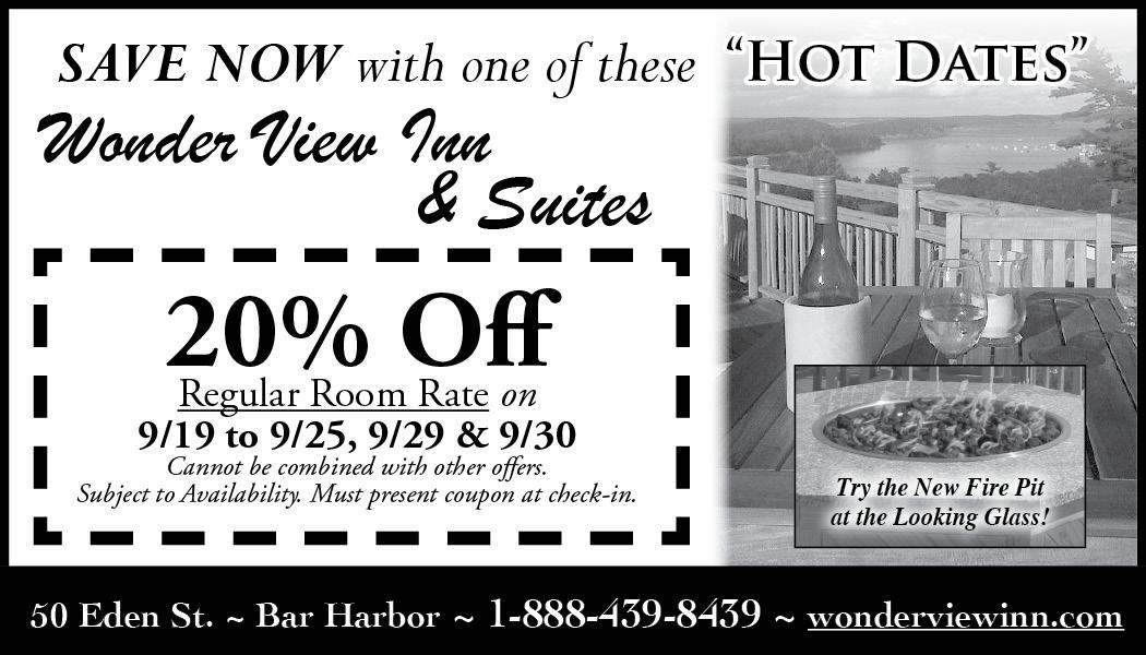 Wonder View Inn - September Hot Dates