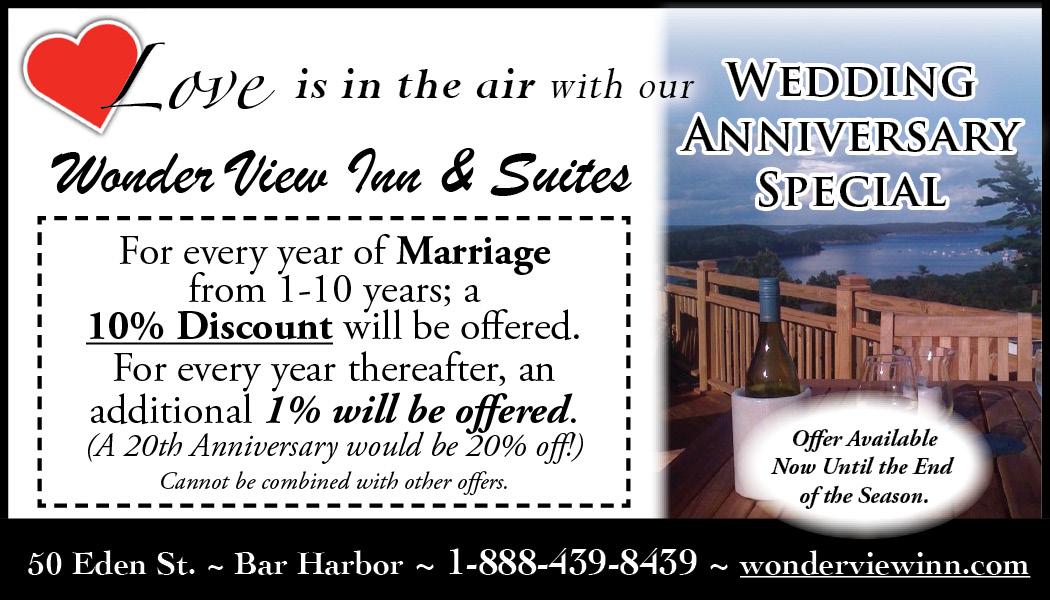 Wonder View - Wedding Anniversary Special