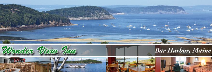 Wonder View Inn Overlooking Bar Harbor Maine
