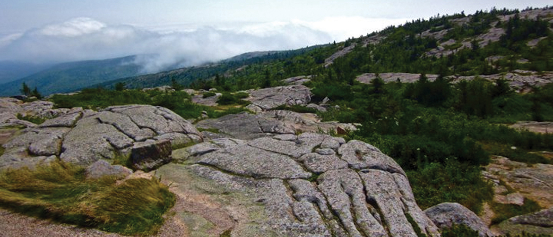 View Of Acadia National Park, Mt. Desert Island Maine